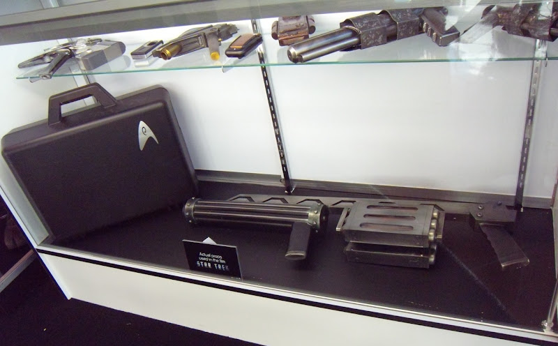 Original Star Trek movie props display