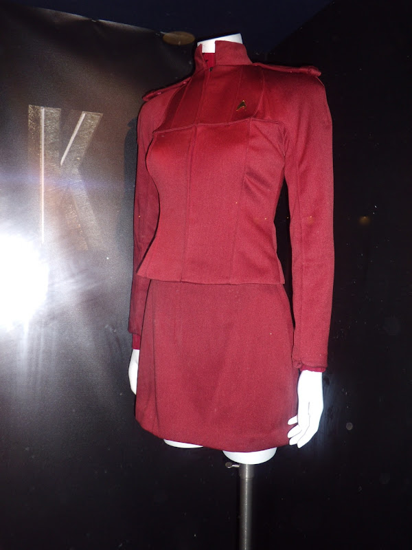 Star Trek red female cadet Starfleet uniform
