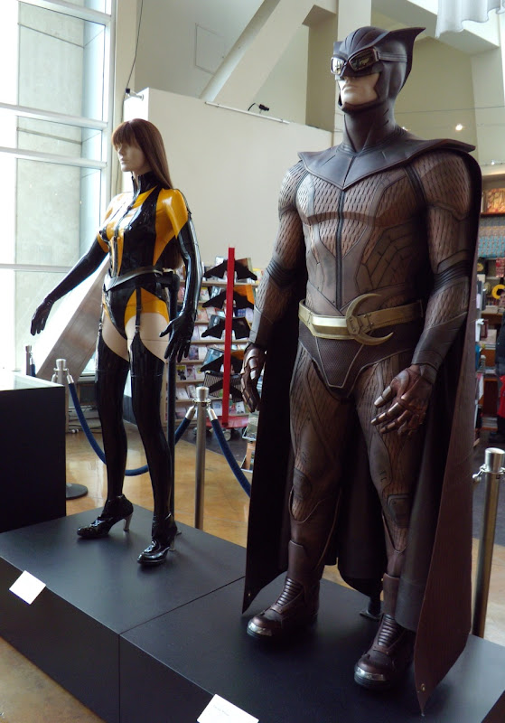 Watchmen costumes at ArcLight Hollywood March 2009
