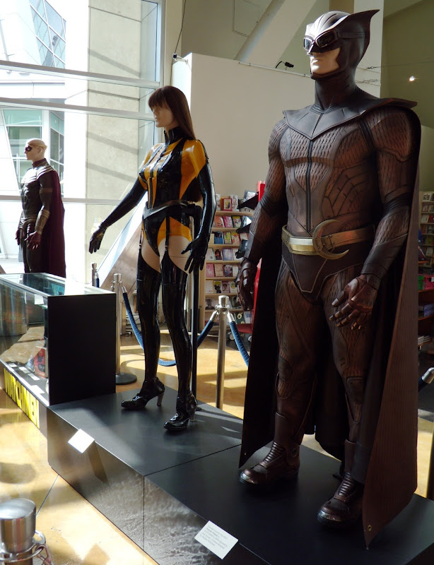 Original Watchmen film costume display