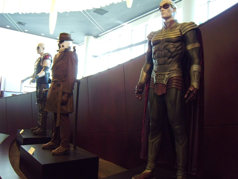 Actual Watchmen film costume exhibit