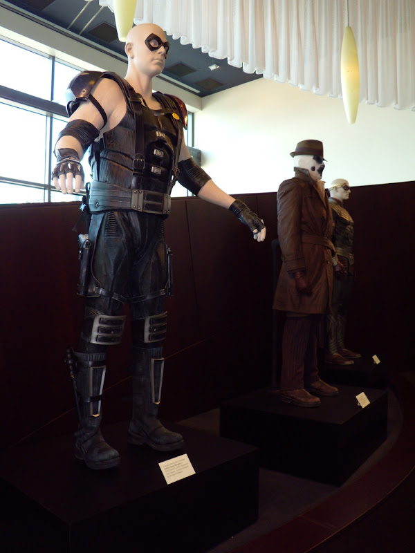 Watchmen film costume display at ArcLight Sherman Oaks March 2009