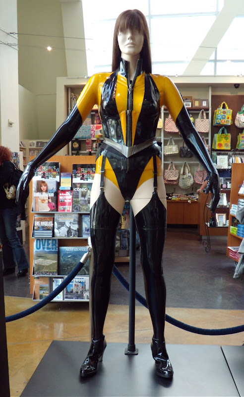Actual Silk Spectre II Watchmen movie costume