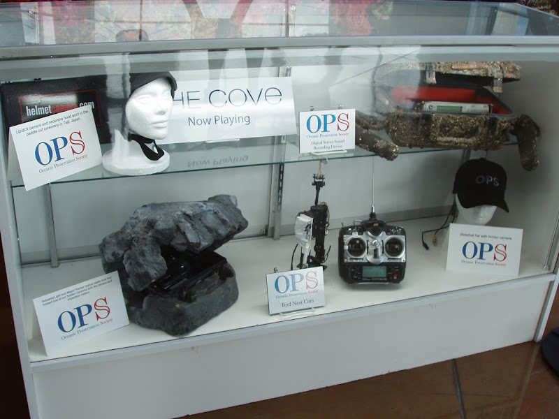 Clandestine OPS filming equipment from The Cove