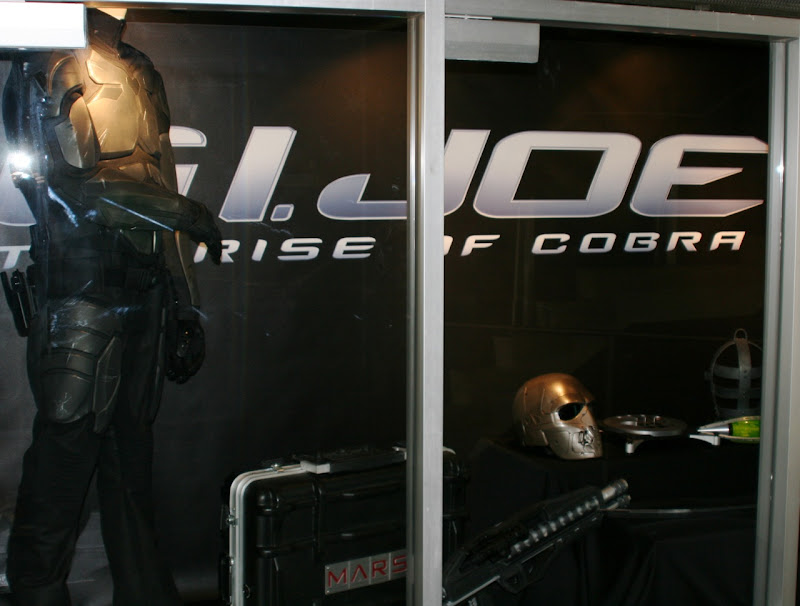 GI Joe movie props and body armour costume