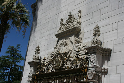 Hearst Castle winged imagery