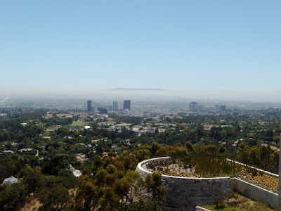 The Getty's South view