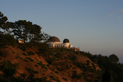 Griffith Observatory at evening