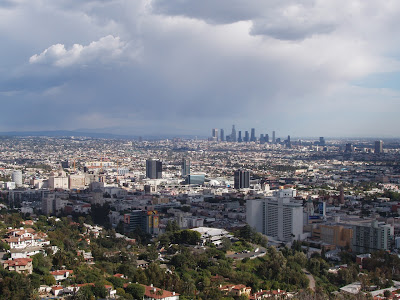 Sprawling Los Angeles Downtown view