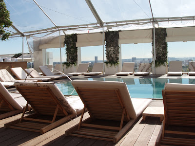 Poolside at Mondrian Sky Bar
