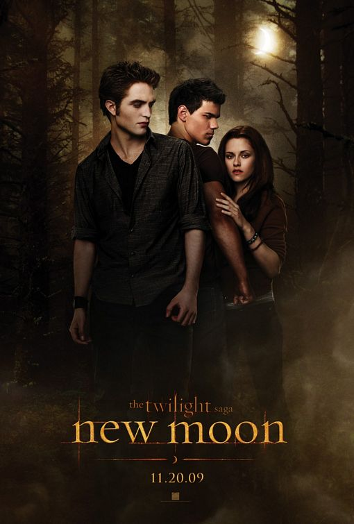 Twilight Saga New Moon movie poster