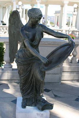 Hearst Castle angel