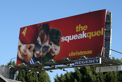 Alvin and the Chipmunks Squeakquel billboard