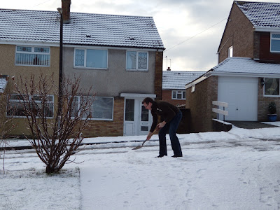 Snow in Wales December 09