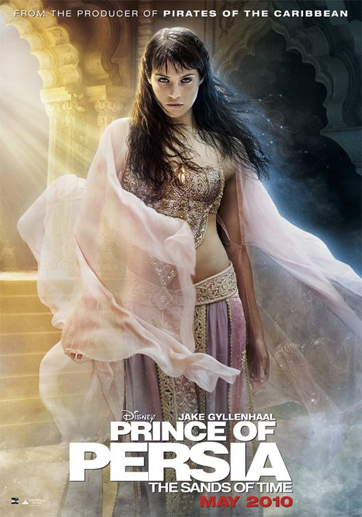 Gemma Arteron Prince of Persia movie poster