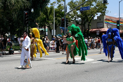 Elvis West Hollywood Gay Pride 2010