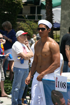 Hot sailor WEHO Pride Parade 2010