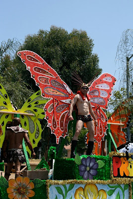 Hunky butterfly West Hollywood Pride 2010