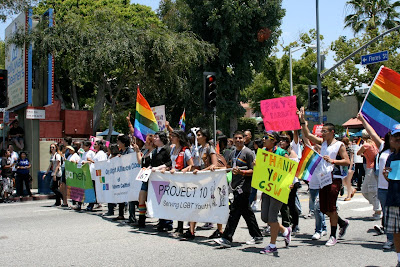 West Hollywood Gay youth Pride 2010