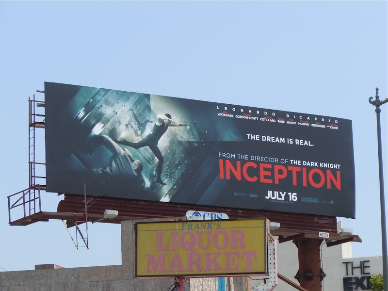 Inception The Dream is real billboard
