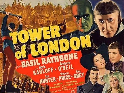 Tower of London 1939 film poster
