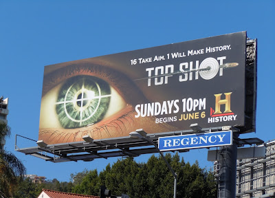 Top Shot TV billboard