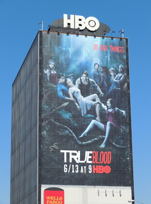 True blood season 3 TV billboard
