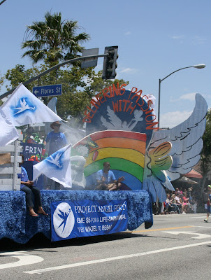 Project Angel Food float LA Pride 2010