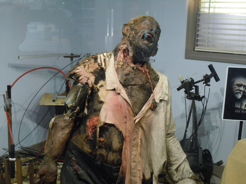 The Wolfman film animatronic werewolf