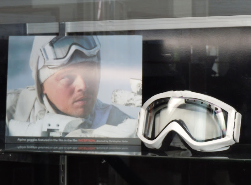 Inception Alpine goggles prop