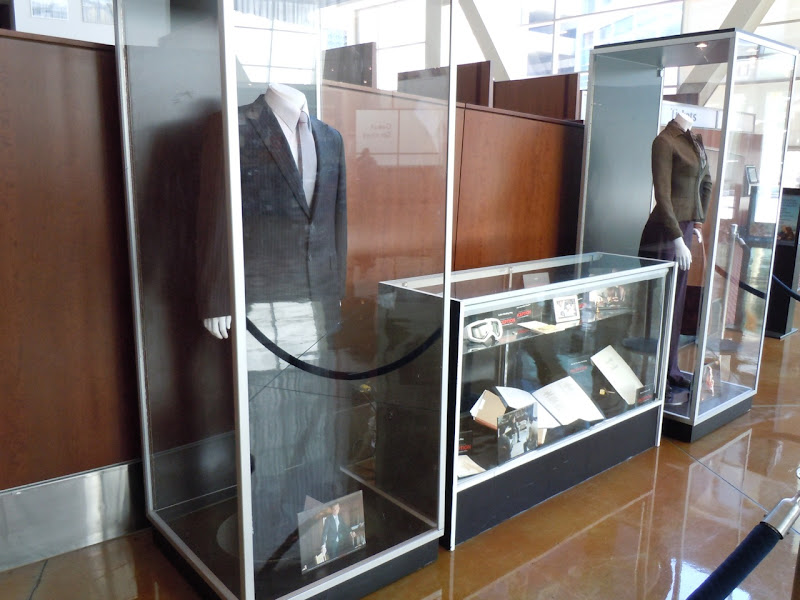 Inception movie costume exhibit