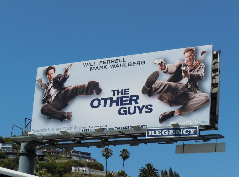 The Other Guys film billboard