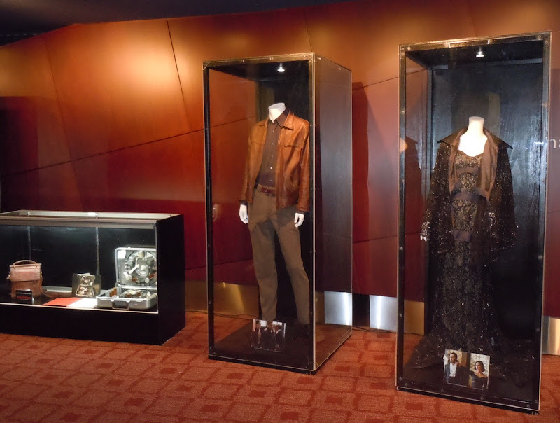Inception movie costume and prop exhibit
