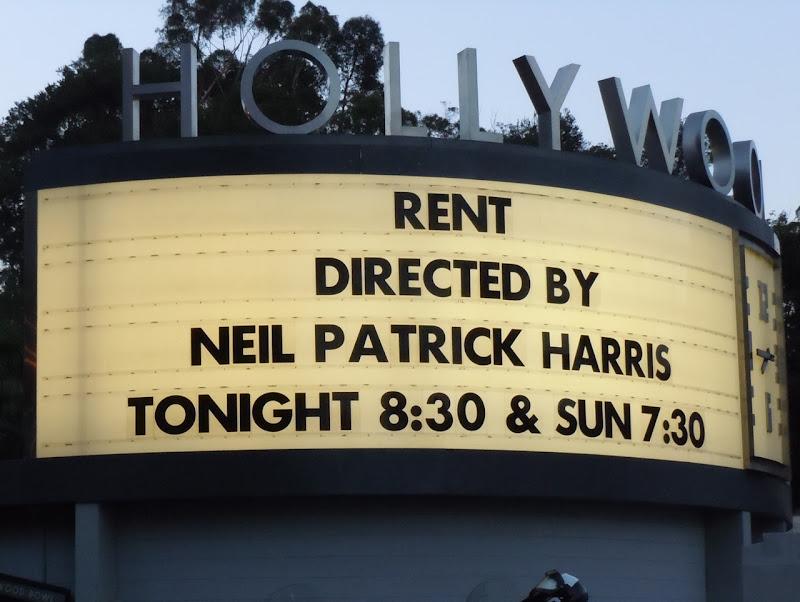 Rent Hollywood Bowl sign