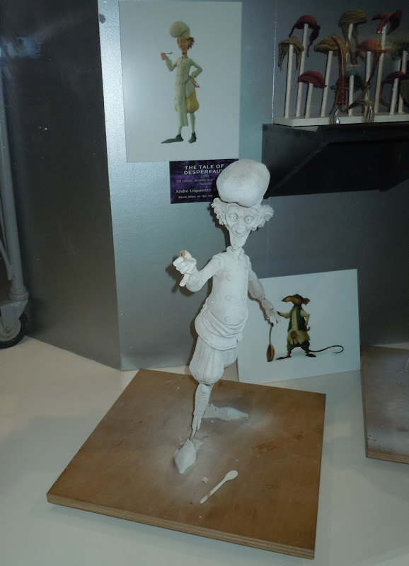 The Tale of Despereaux Andre maquette