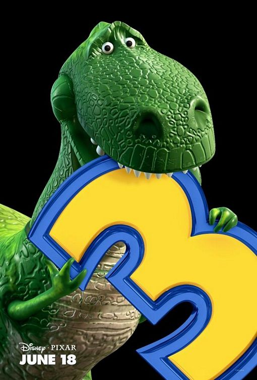 Rex Toy Story 3 poster