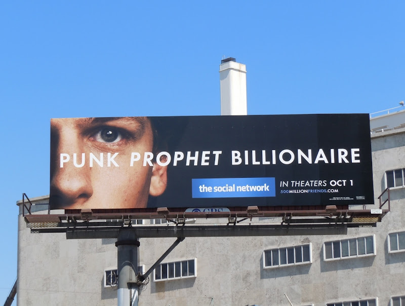 Punk Prophet Social Network film billboard