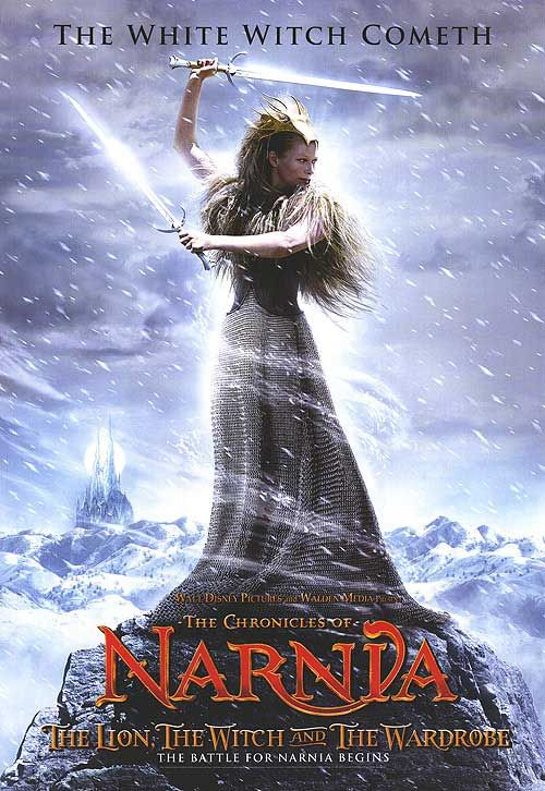 Narnia White Witch poster