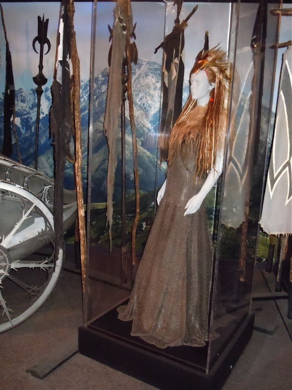 Narnia's White Witch battle costume