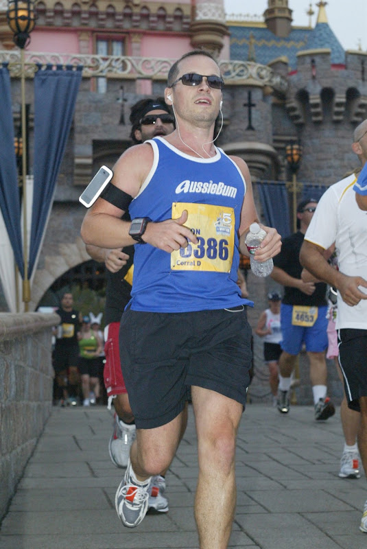 Jason at Disneyland Half Marathon