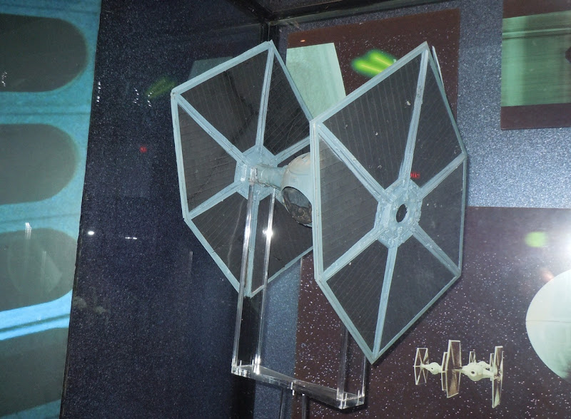 Actual Star Wars TIE Fighter model