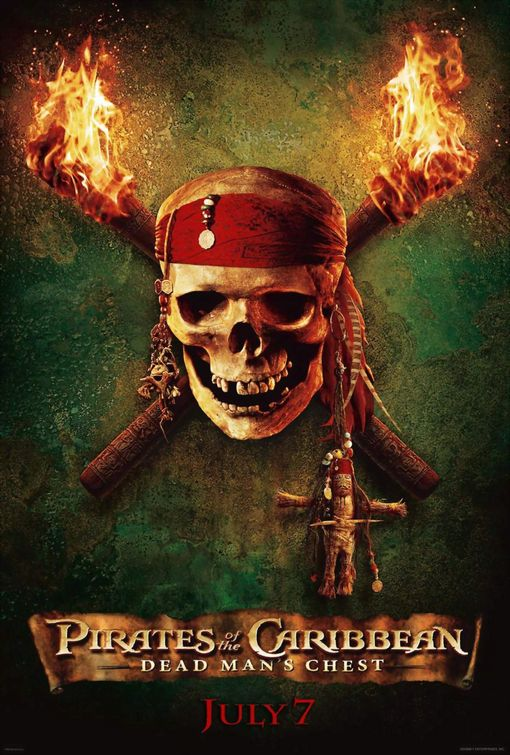 Pirates Dead Man's Chest poster