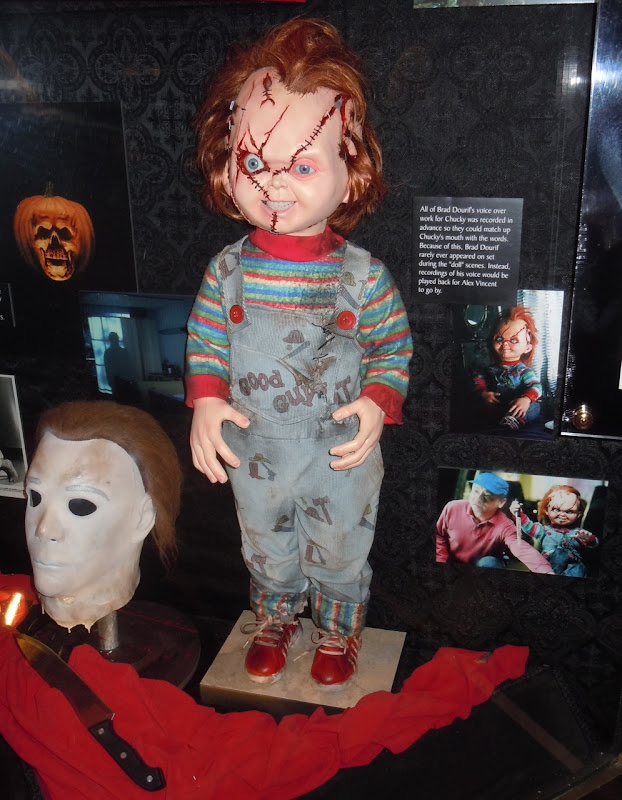 Child's Play Chucky animatronic doll