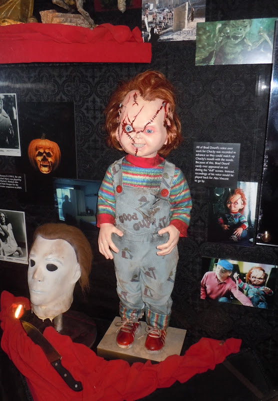 Chucky animatronic Child's Play display