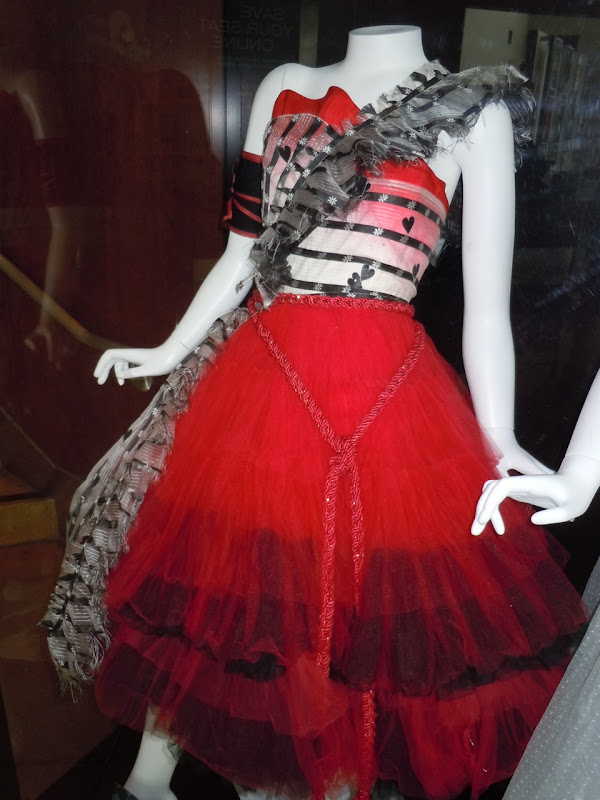 Alice in Wonderland Red Queen Palace dress