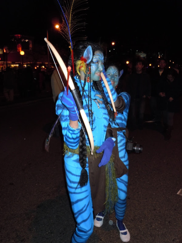 West Hollywood Halloween Avatar Na'vi costumes
