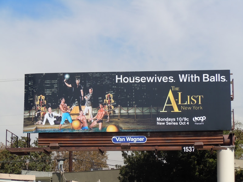 A-List TV billboard