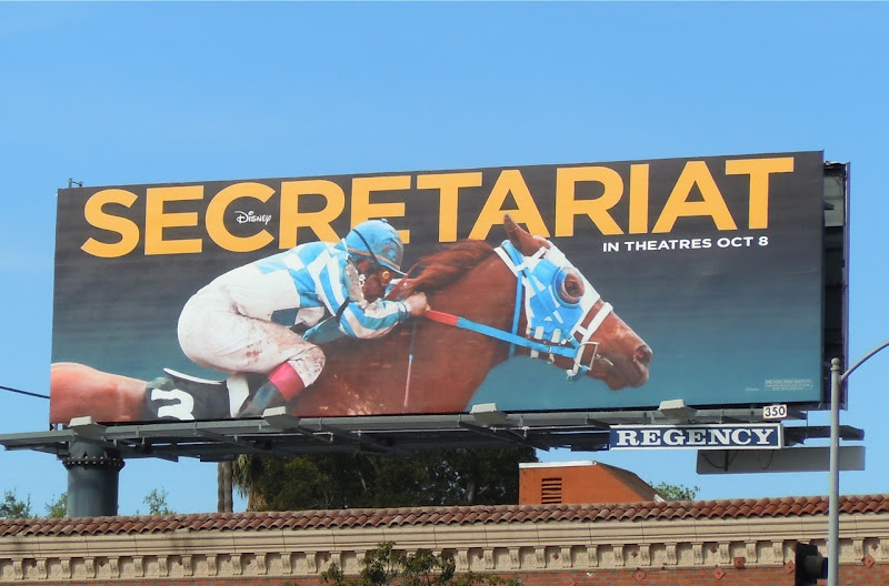 Disney Secretariat movie billboard