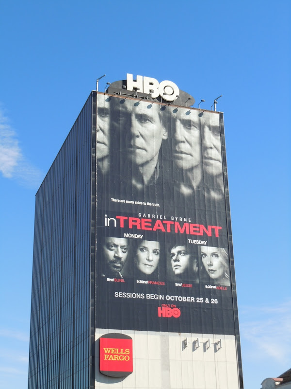 In Treatment season 3 TV billboard