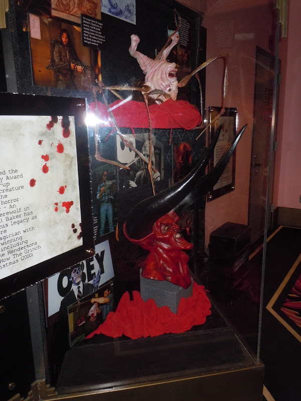 Rob Bottin Legend and Thing display